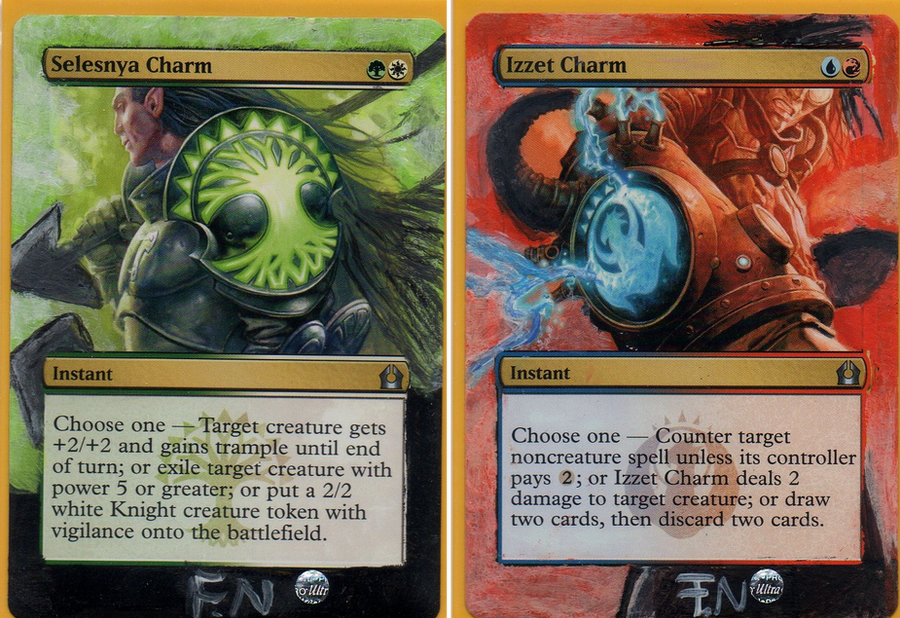 How To Alter Magic Cards With Acrylic Paint