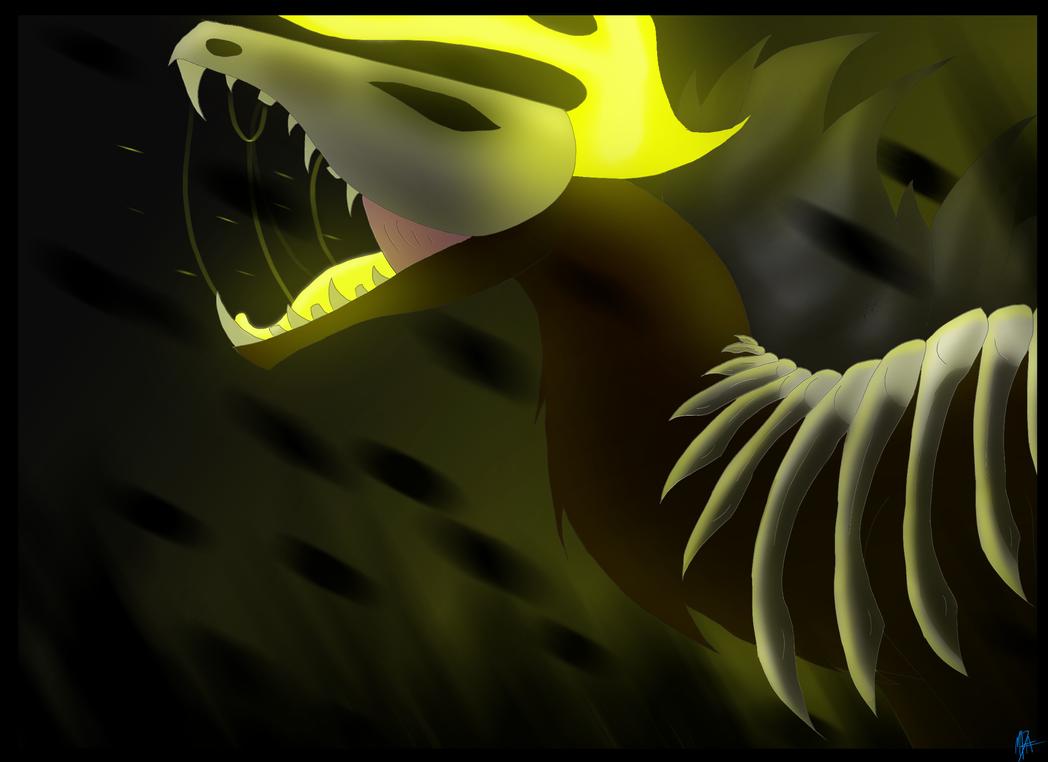 Mole-Death by MayDragonArtist