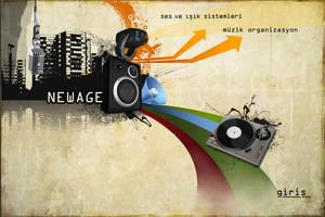 Newage Web by lalanthecat