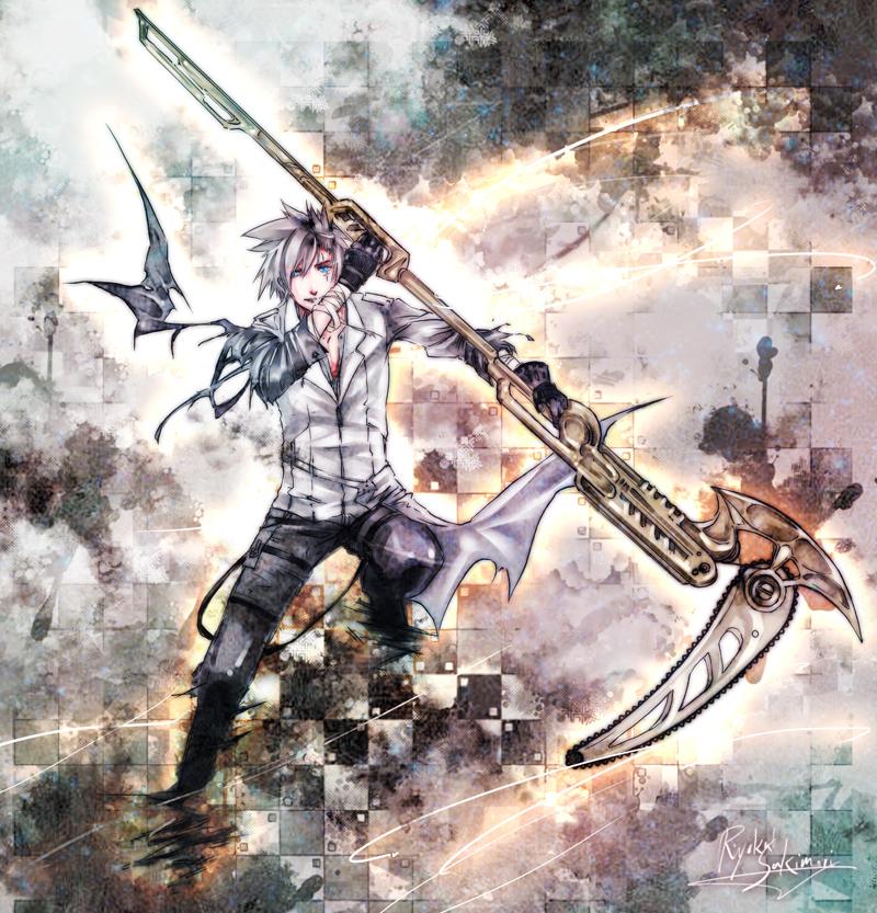 Chain Scythe by Nyanfood