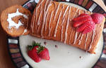 Thai Tea Roll Cake