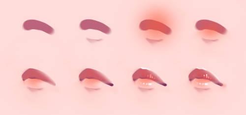 Lips Step by Step