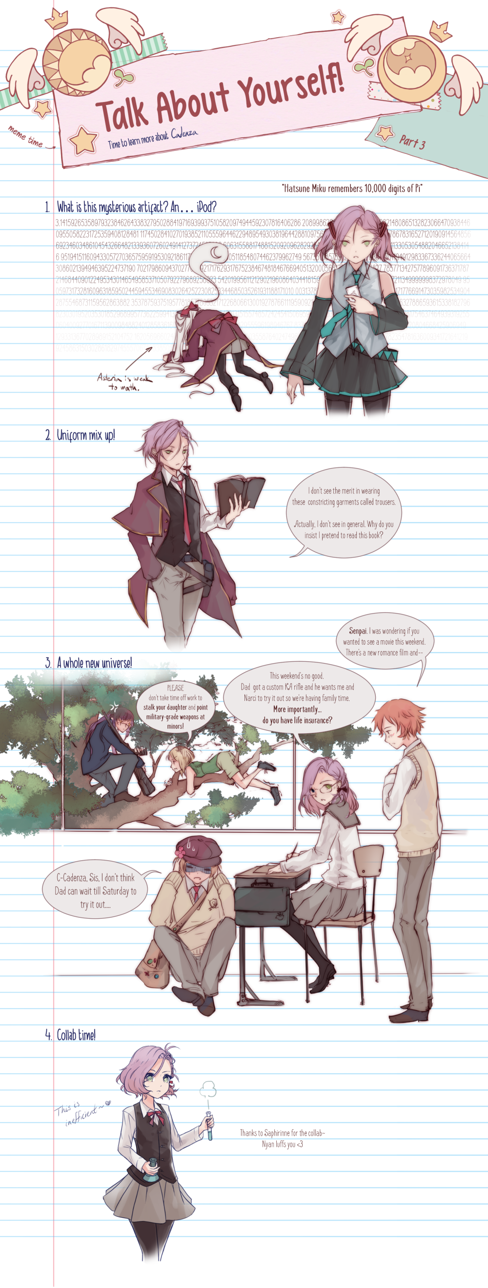 {PR} - Talk About Yourself Pt3 by Nyanfood