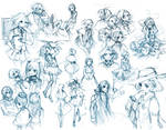 {PR} - Sketch Dump From Hell 2