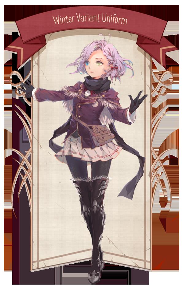 {PR} - Winter Variant Uniform by Nyanfood