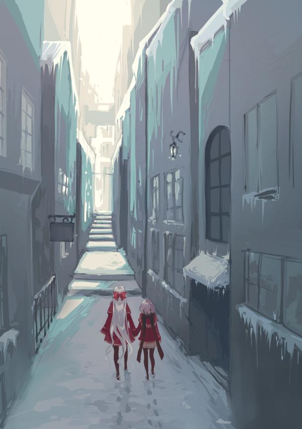 {PR} - Corridor by Nyanfood