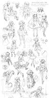 {PR} - Sketch Dump From Hell 3 by Nyanfood