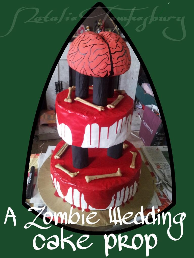 A Zombie Wedding Cake Prop By Nat4747 On Deviantart
