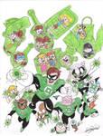 Green Lantern in The Loud House