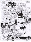 Batman in The Loud House (Variant Cover)