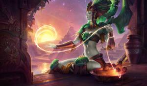 Statue Goddess Karma