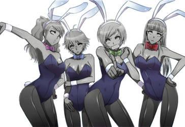 Petrified Bunny Girls