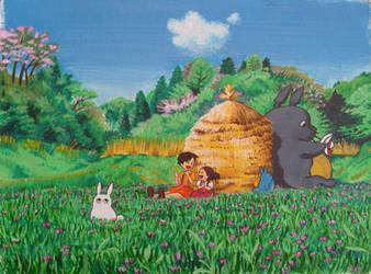 Totoro by nakuruaki