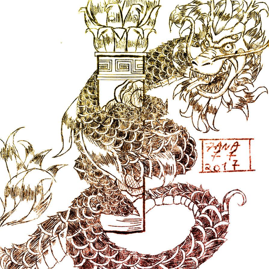 Digital ink pratice by Zana77