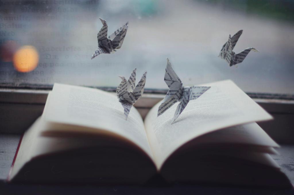 As Words Take Flight