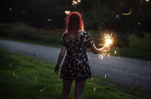 Fireflies II by TheFoxAndTheRaven
