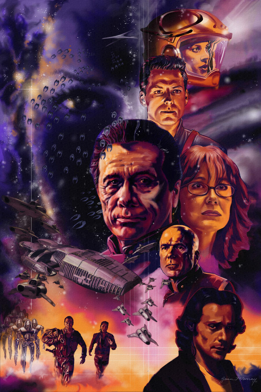Battlestar Galactica by Adobewan