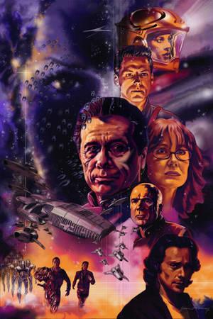 Battlestar Galactica by Adobewan