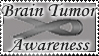 Brain Tumor Awareness Stamp by rosequartz