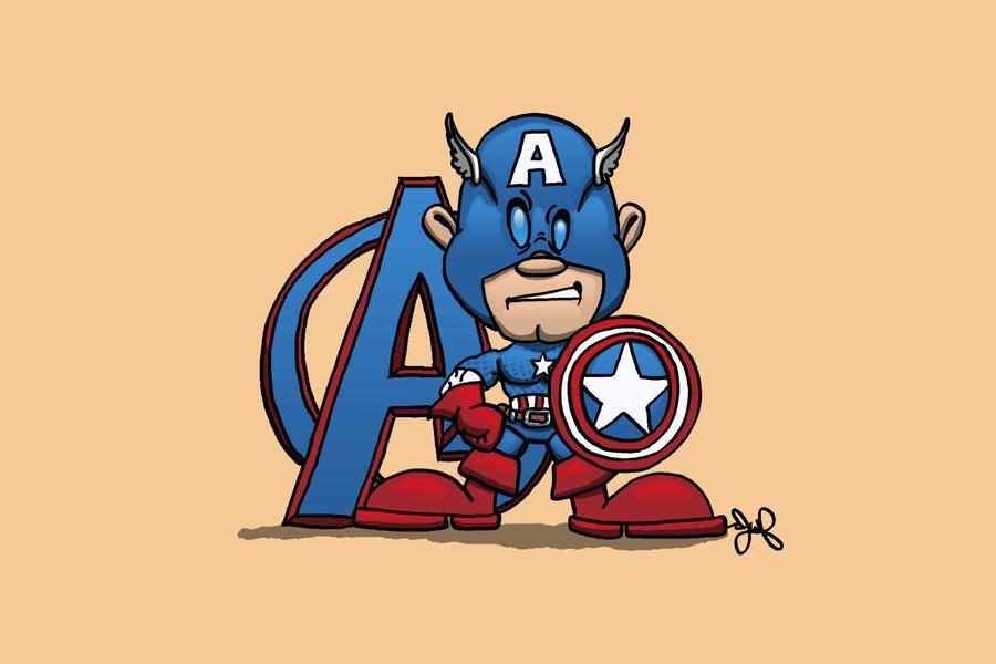Captain America by JoshuaFitzpatrick