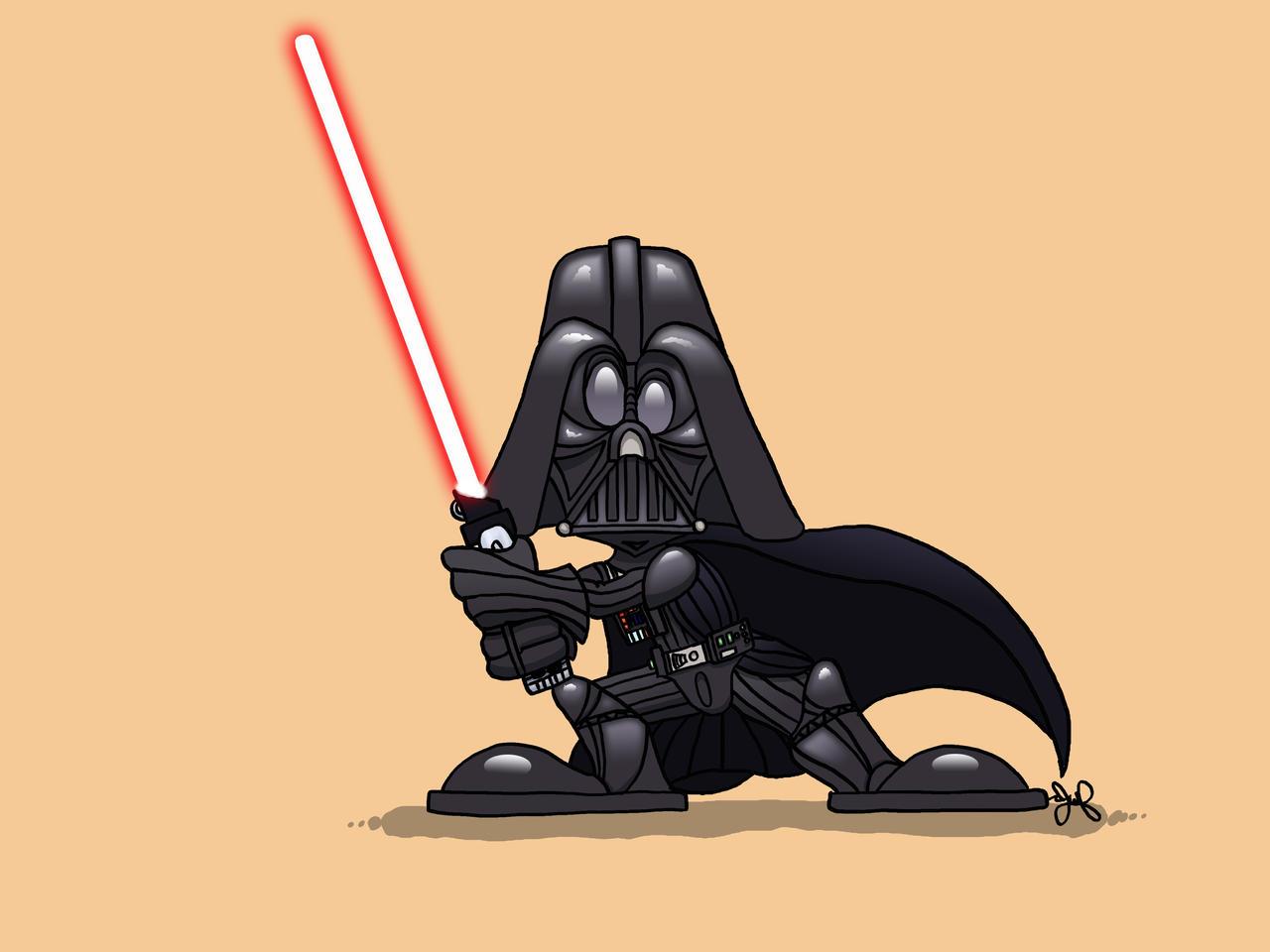 Darth Vader NooOOOoos by JoshuaFitzpatrick