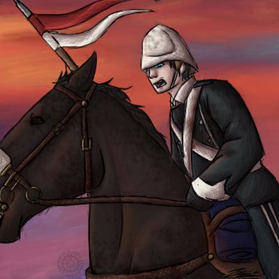 RA Background Entry. 17th Lancer,Past Snippy. by Flekkr