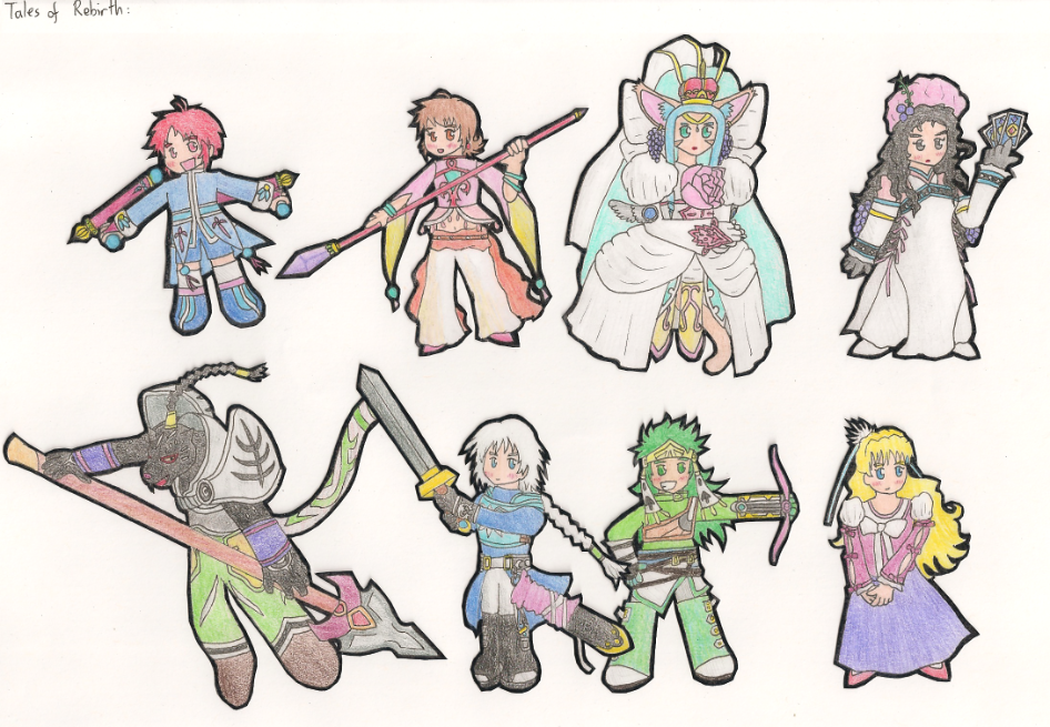 tales of rebirth characters by danjaman on deviantart