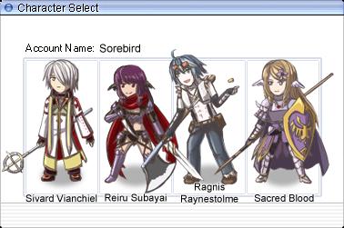 GtRO: Sorebird Character Select by Sorebird