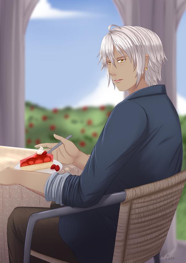 Strawberry by Sorebird