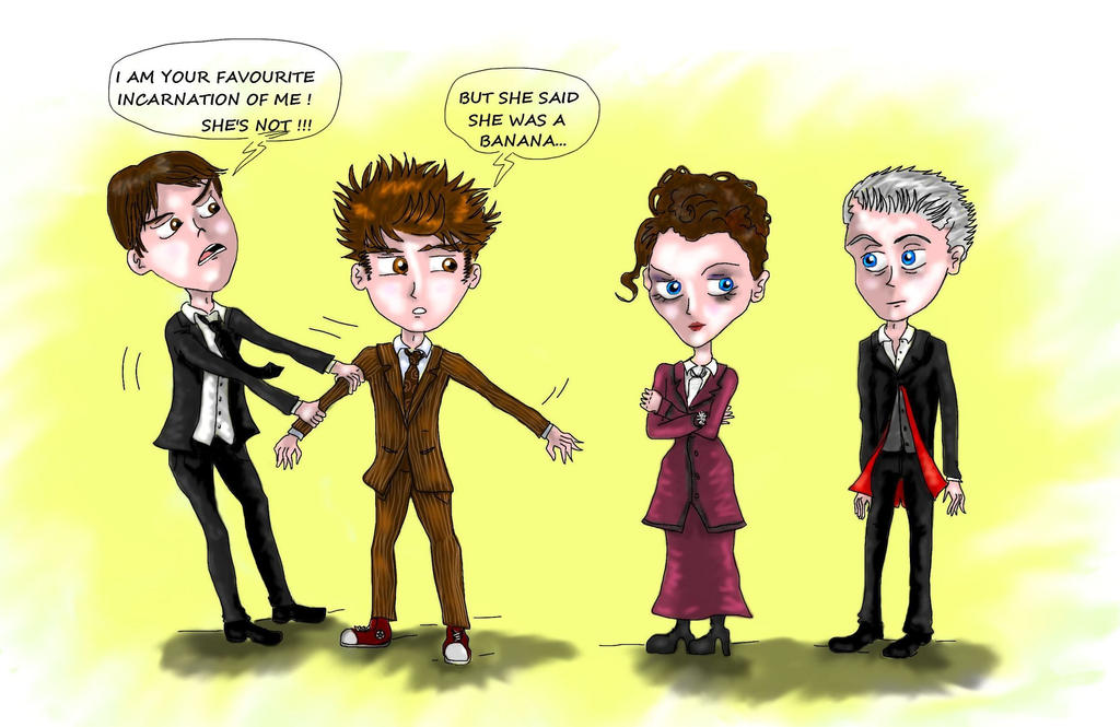 Doctor Who : Missy is totally bananas ! by Campanita42