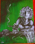 Femme a la cigarette