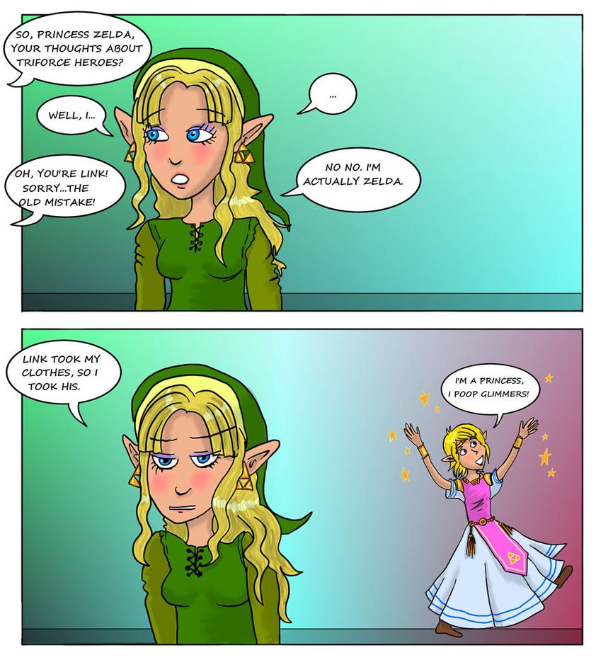 LOZ: Second Reaction to Triforce Heroes by Campanita42