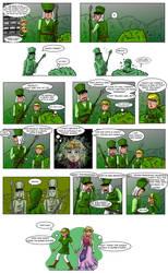 LOZ : Zelda and Link In A Bush by Campanita42