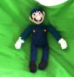 Luigi Crochet Doll by Campanita42