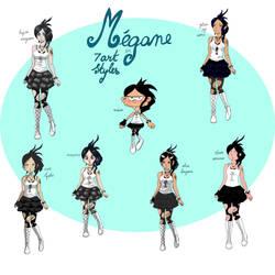 Nombrils : Megane en 7 styles differents