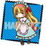 [Hawa777] Pixel Art - Chibi Lolita Speedpaint #1