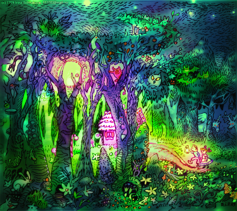 Hansel and Gretel - Forest by iricolor