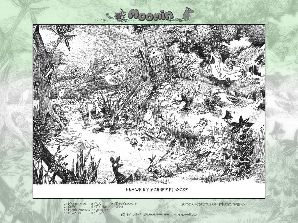 Moomin by iricolor