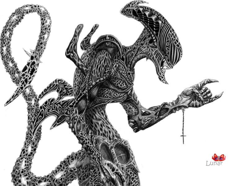 Coll Alien by AlfaLunar