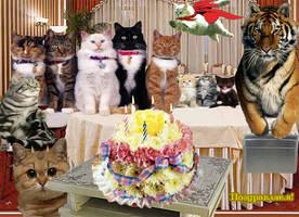 Happy birthday Drakkoshka by AlfaLunar