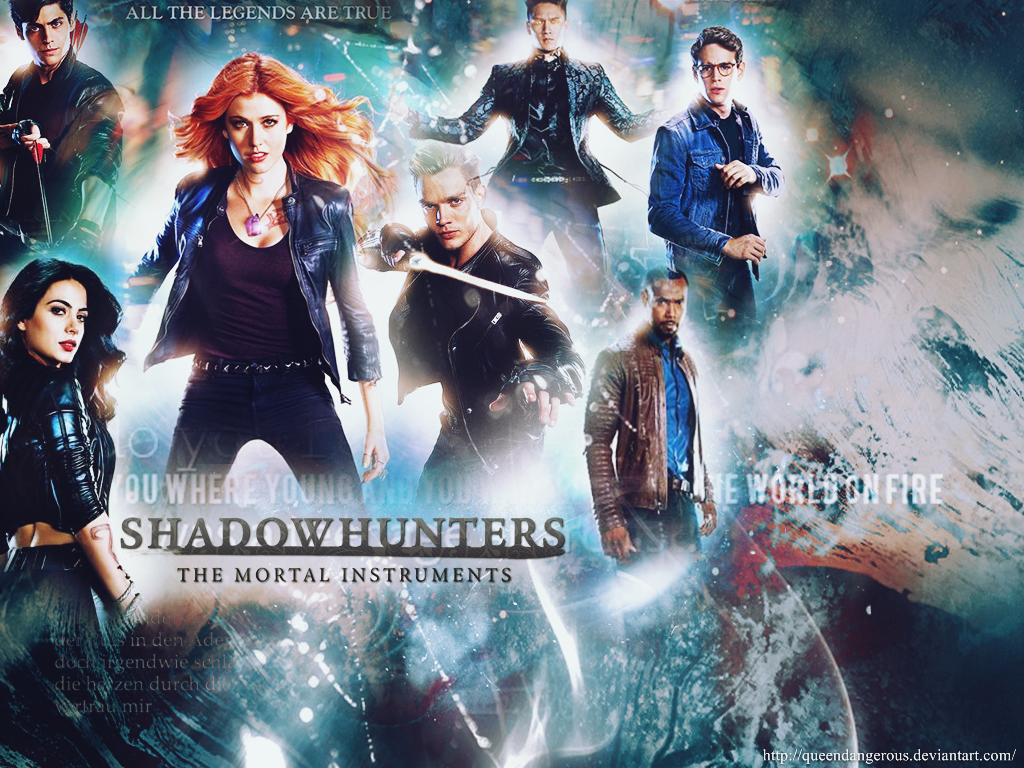 all the legends are true|shadowhunters|wallpaperqueendangerous