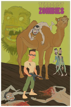 Camel Riding Zombie Terrorists