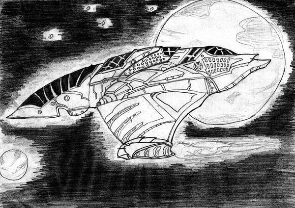 spaceship 2 by Harunsilver