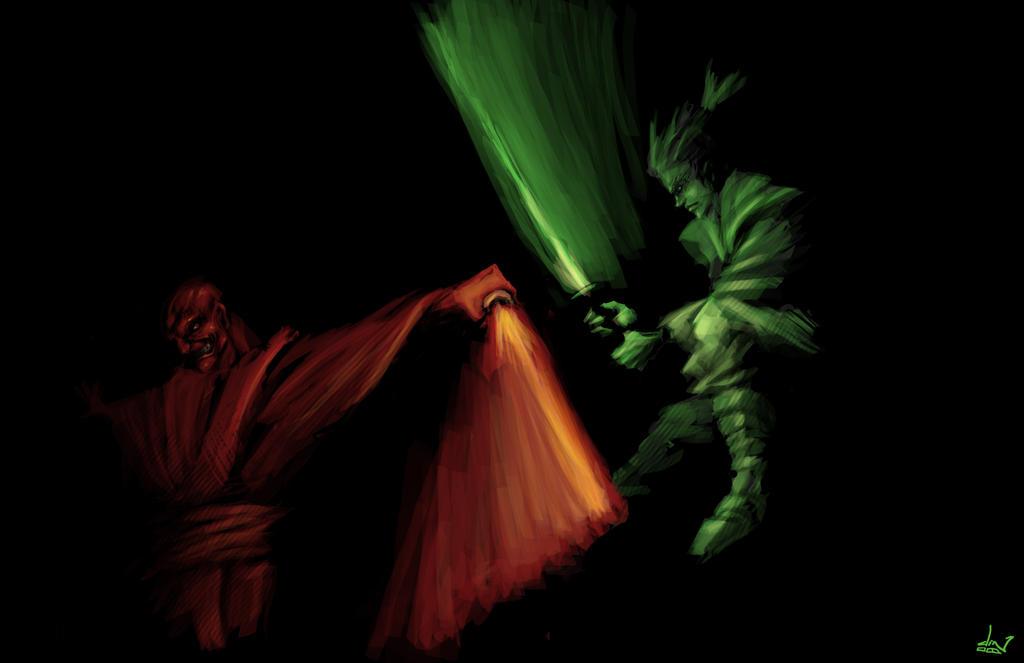 Jedi Vs Sith By Dinmoney