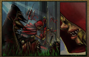 Red Riding Hood page 3 updated by dinmoney