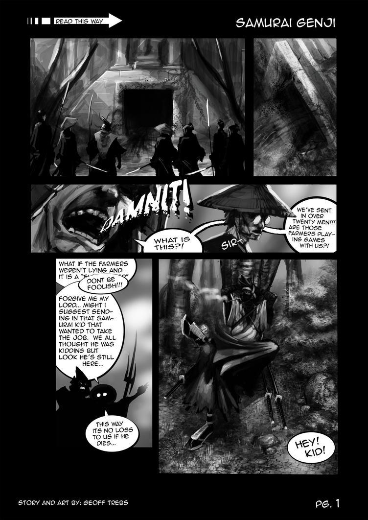 samurai genji pg.1 by dinmoney