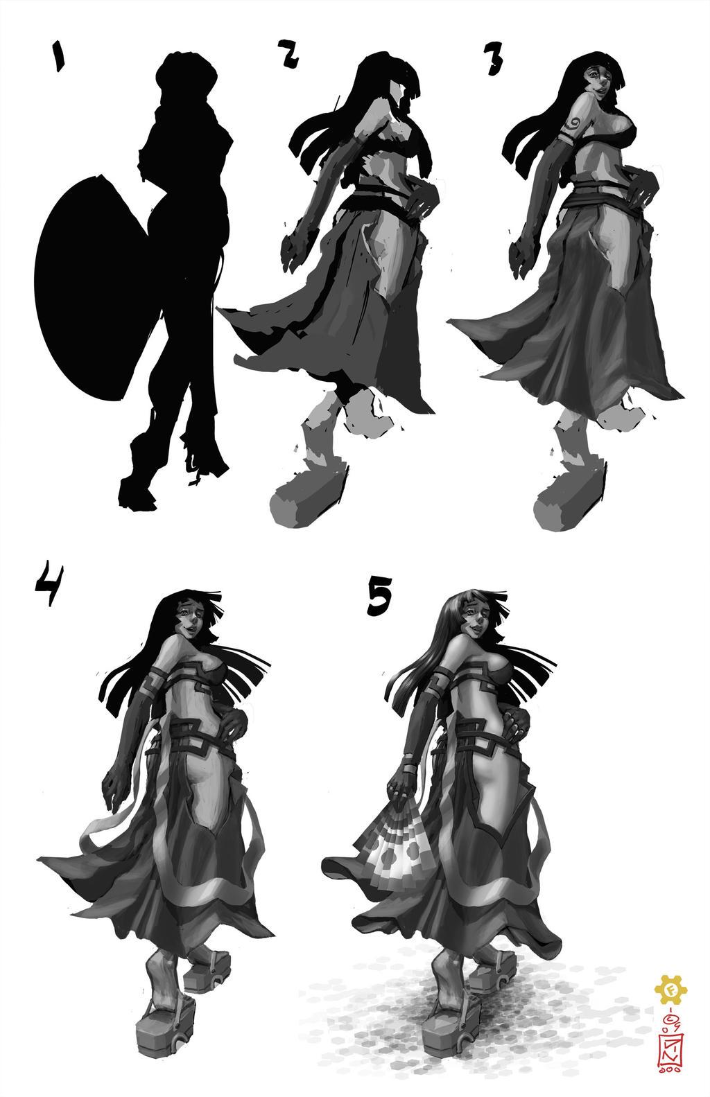 samurai 031 process by dinmoney