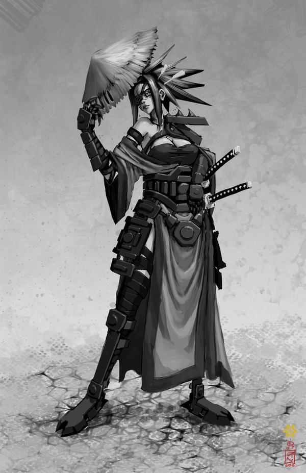 samurai 032 by dinmoney