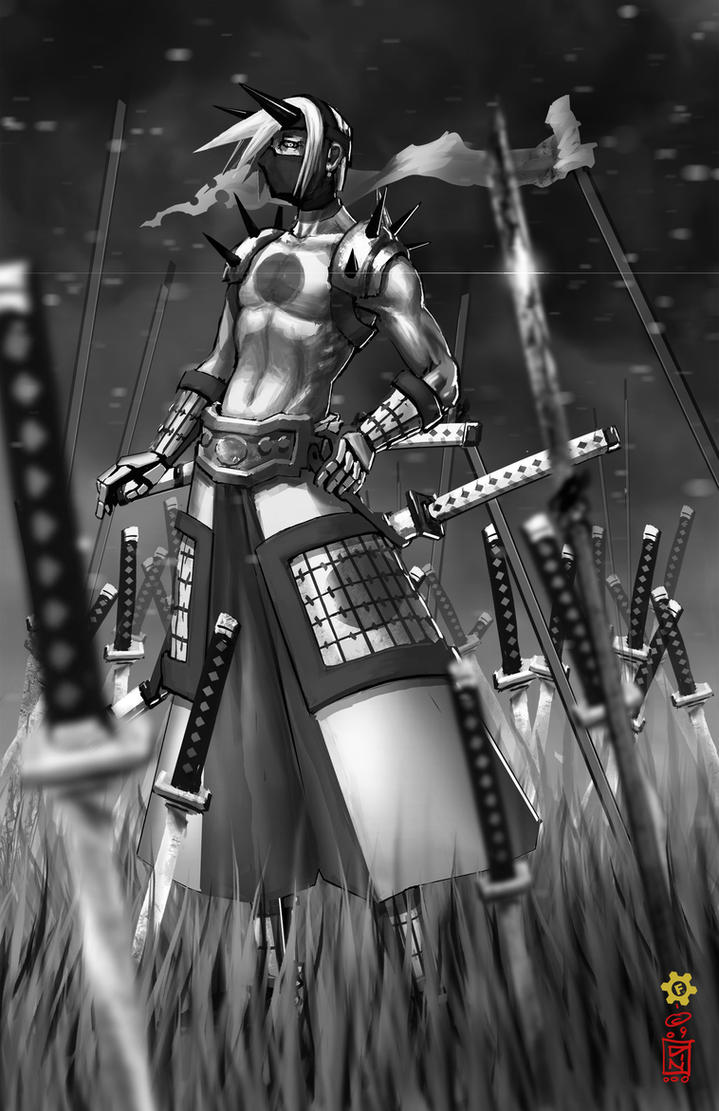 [X]Yu Lei - The Redacted Guillotine's Enrollment. Samurai_034_by_dinmoney