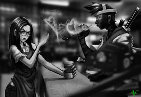 crossover cafe by dinmoney